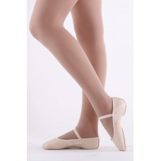 Childs/Womens Full Sole Leather Ballet